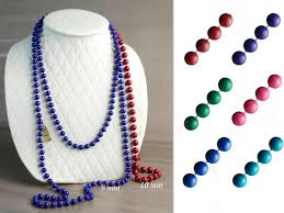 mardi gras beaded necklaces gras beaded necklaces