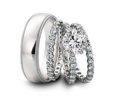 cheap wedding ring sets for him and wedding his and hers white gold wedding rings sets ring