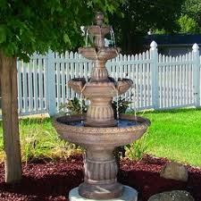Water Features Backyard by Outdoor Fountains You U0027ll Love Wayfair