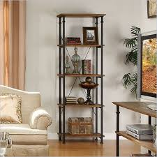 Rustic Wood Bookshelves by The 25 Best Metal Bookcase Ideas On Pinterest Industrial