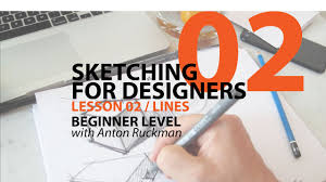 how to draw sketching for product designers tutorial lines