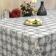 modern tablecloths franclaire fabrics