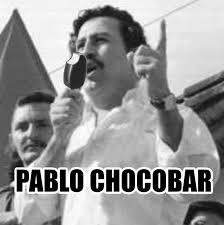 Pablo Escobar Meme - bakwas rider wear helmet at the back also on twitter