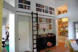 Library Bookcases With Ladder Bookcase Library Wall Bookcase With Ladder Library Bookcase Wall