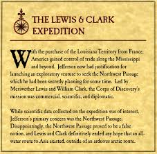 Lewis And Clark Expedition Map Lewis U0026 Clark Expedition