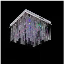 Outdoor Led Chandelier Chandelier Led Light Modern Crystal Chandelier E27 450mm 450mm Rgb