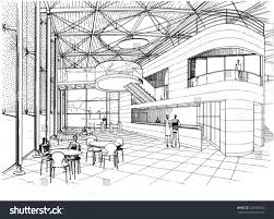 drawing lounge stock illustration 222483766 shutterstock