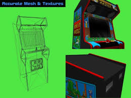 Make Your Own Arcade Cabinet by Second Life Marketplace Make Your Own Playable Arcade Kit