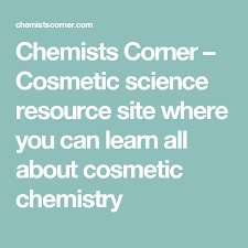 cosmetic science schools chemists corner cosmetic science resource site where you can