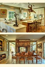 296 best barn home beauties images on pinterest post and beam the southold barn house kitchen and dining room barn home wow visit for more