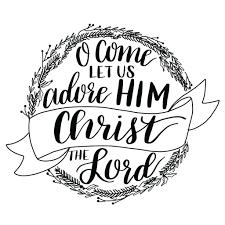 hand lettered christmas hymn tutorial u0026 printable one artsy mama