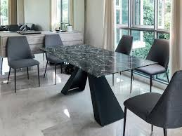 greyhammer furniture architect solid wood marble veneer b4806 anson br solid wood or stone dining table customisable