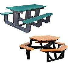 commercial recycled plastic picnic tables national outdoor furniture