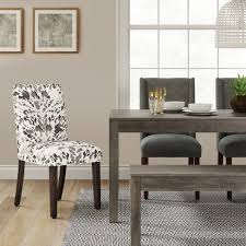 target parsons dining table parsons print dining chair threshold target