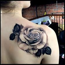 black rose tattoo black and white rose tattoos
