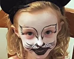 halloween kitty face kitty cat face painting tutorial halloween with snazaroo