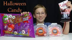 halloween candy review collintv youtube