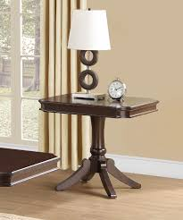 Dark Cherry Sofa Table by Homelegance Marston Rectangular Coffee Table Set Dark Cherry