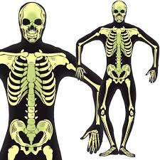 skeleton and xray suit halloween fancy dress costume u2013 mens ladies