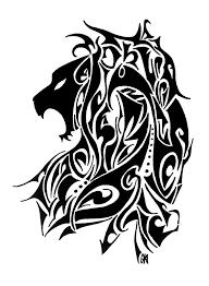 lion tribal tattoo design by hamydsart on deviantart