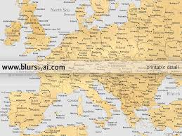 Map Of Germany With Cities Personalized World Map Highly Detailed World Map Printable With