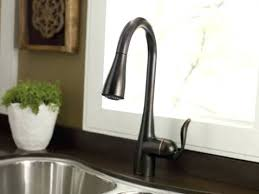 kitchen faucet rubbed bronze bronze kitchen faucet arbor single handle kitchen faucet