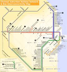 Metro Rail Map by Railway Stations In Chennai Wikipedia