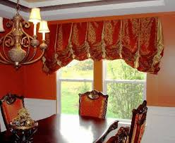 decorate your dining room window with dining room valances