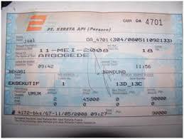 Tiket Kereta Api Stefanus Christian S Pengalamanku Membeli Tiket Kereta Api