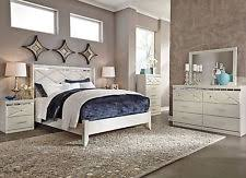 ashley furniture b267 willowton white queen or king panel bed