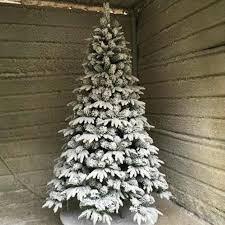 1 5m 1 8m 2 1m flocking christmas tree pe pvc large white