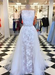 white lace prom dress unique white lace prom dress lace evening dress trendty