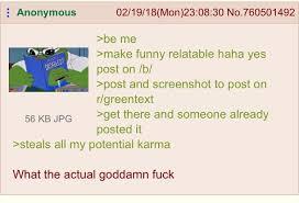 Anon Meme - anon meme gets nabbed greentext
