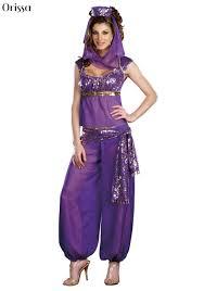 Jasmine Halloween Costume Adults Cheap Genie Halloween Costumes Aliexpress