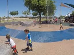 looking for a place to cool off find a splash pad in your area