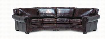 Leather Sectional Sofa by Tulsa Leather Sectional Sofa Collection Santa Fe Ranch