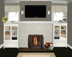 living room paint ideas with brick fireplace carameloffers