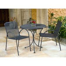 Wrought Iron Bistro Chairs Furniture Wrought Iron Outdoor Bistro Sets Antique Bronze