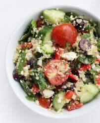 how to make a mediterranean diet salad popsugar fitness