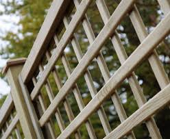open square trellis panel 70mm gap