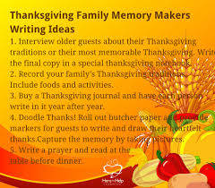 thanksgiving month 25 thanksgiving writing warm ups here to help learning