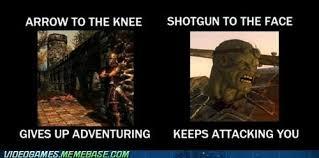 Skyrim Meme - skyrim vs fallout video games video game memes pokémon go