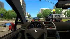 pijot car city car driving peugeot 207 youtube