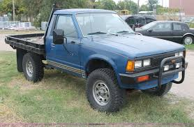 datsun nissan truck 1984 nissan datsun pickup truck item h4244 sold october