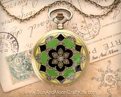 vintage necklace watch pendant images Magical mystery kaleidoscope pocket watch pendant necklace jpg