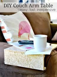 sofa arm tray diy