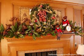 Images Of Mantels Decorated For Christmas 50 Most Beautiful Christmas Fireplace Decorating Ideas Christmas