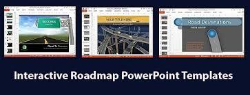 interactive roadmap powerpoint templates jpg