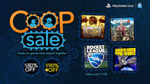 co op sale up to 80 borderlands rocket league and more