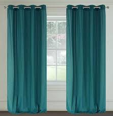 Peacock Blue Sheer Curtains Peacock Blue Curtains Teawing Co